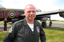 Squadron Leader Stuart Reid at Biggin Hill International Air Fair 2009
