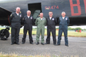 Air Chief Marshal Sir Glenn Torpy with Avro Lancaster PA474 crew at Biggin Hill International Air Fair 2009