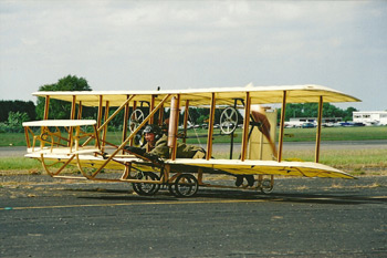 Wright flyer replica at Biggin Hill International Air Fair 2003