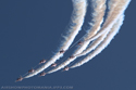 The Red Arrows Display Team at Cosford Air Show 2006