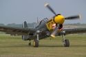 Curtiss P-40M-10CU 27490 43-5802(G-KITT), ex-RCAF Kittyhawk III 845, ex-5 OTU at Cosford Air Show 2007