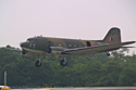 Douglas C47 Dakota DC-3 ZA947 at Cosford Air Show 2007