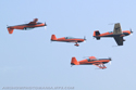The Blades Aerobatic Display Team at Cosford Air Show 2007