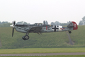 Hispano Aviacion HA-1112-M1L Buchon 223 G-BWUE (Ex C.4K-102 of the Spanish Air Force) at Cosford Air Show 2007