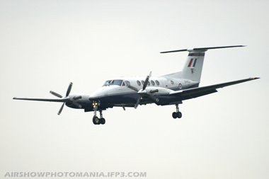Beechcraft Super King Air B200 G-RAFM ZK453 at Cosford Air Show 2008
