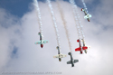 The Aerostars - Yak Aerobatic Display Team at Cosford Air Show 2009