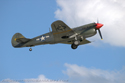 Curtiss P-40M-10CU 27490 43-5802(G-KITT), ex-RCAF Kittyhawk III 845, ex-5 OTU at Cosford Air Show 2009