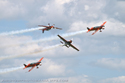 The Blades Aerobatic Display Team at Cosford Air Show 2009