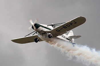 Piper PA-25 Pawnee G-BDPJ at Cosford Air Show 2012