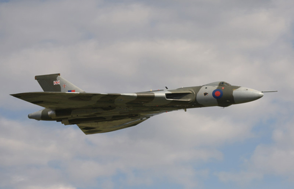 Avro Vulcan B2 G-VLCN/XH558 at Royal Air Force Cosford Air Show