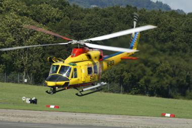 Agusta Bell AB-412SP SAR R-03 at Dunsfold Wings & Wheels Air Show 2008