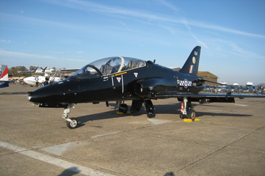 Hawker Siddeley Hawk T1A (HS-1182) XX158/158 (cn 004/312004) at Duxford Autumn Air Show 2011