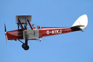 de Havilland DH-82A Tiger Moth II G-AIXJ (cn 85434) at Duxford Autumn Air Show 2011