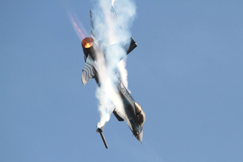 Belgian Air Component F-16AM Fighting Falcon at Duxford Autumn Air Show 2011