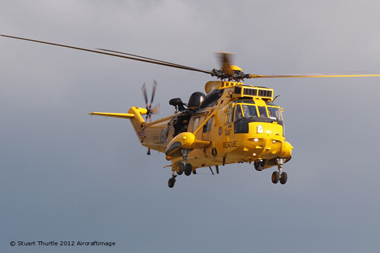 Westland Sea King HAR3A ZH544/Y (cn WA1010) at Duxford Autumn Air Show 2012