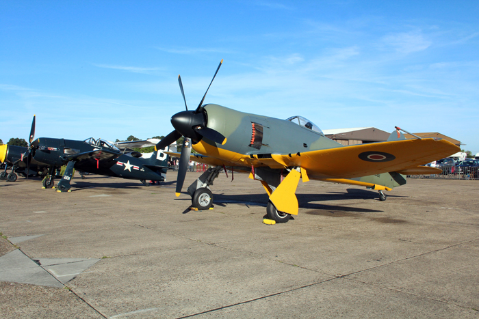 The Duxford Air Show meet the Fighters - September 10-11th September 2016
