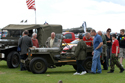 American military vehicles at Duxford American Air Day 2009