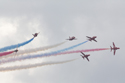 The Red Arrows (Royal Air Force Aerobatic Team) at Duxford The Battle of Britain Air Show