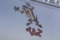 Taz artwork on Canadian Car Foundry North American T-6 Texan (Harvard) lV 1747/G-BGPB at Duxford The Battle of Britain Air Show