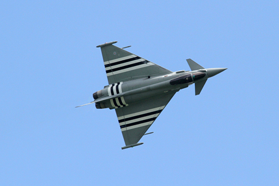 Eurofighter Typhoon at The Duxford D-Day Anniversary Air Show