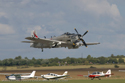 Douglas A-1 Skyraider 7722 G-RADR AK-402 126922 at Duxford Flying Legends 2009