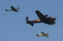 The Battle of Britain Memorial Flight at The Duxford Jubilee Air Show