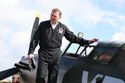 Wing Commander Ian Laing at Duxford Battle of Britain Memorial Event
