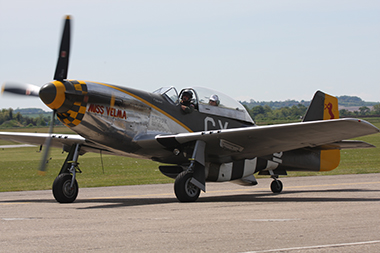 North American Aviation P-51D-25NT Mustang N251RJ 44-84847 (CY-D) Miss Velma at Duxford Spring Air Show 2013