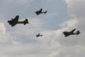 Formation flight at the Sally B and Friends Day at Imperial War Museum Duxford