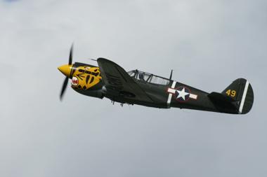 Curtiss P-40M Kittyhawk G-KITT/210855 at Eastbourne International Air Show