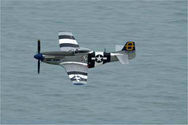 P-51D-20-NA Mustang 44-72035 Jumpin Jacques at Eastbourne International Air Show