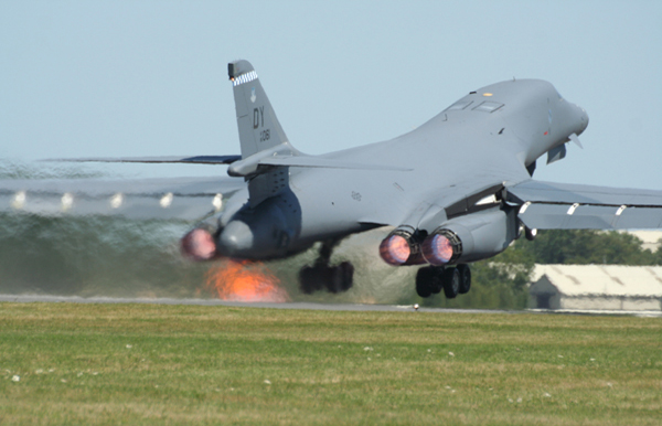 Rockwell B-1 Lancer at Fairford Air Show (Royal International Air Tattoo) 2006