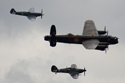 The Battle of Britain Memorial Flight at Fairford Air Show (Royal International Air Tattoo) 2009
