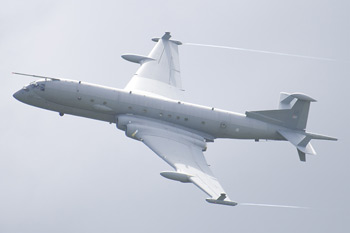 BAE Systems Nimrod MRA4 PA2 ZJ518/18 at Fairford Air Show (Royal International Air Tattoo) 2009