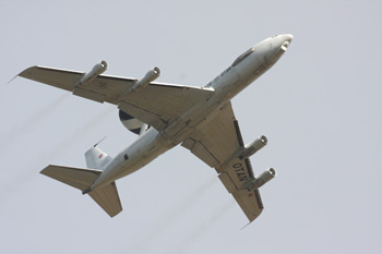 Boeing E-3 Sentry (AWACS) at Fairford Air Show (Royal International Air Tattoo) 2010