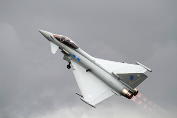 Eurofighter Typhoon at Fairford Air Show (Royal International Air Tattoo) 2012