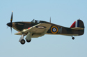 Hawker Hurricane Mk I G-HUPW R4118 at Fairford Air Show (Royal International Air Tattoo) 2006