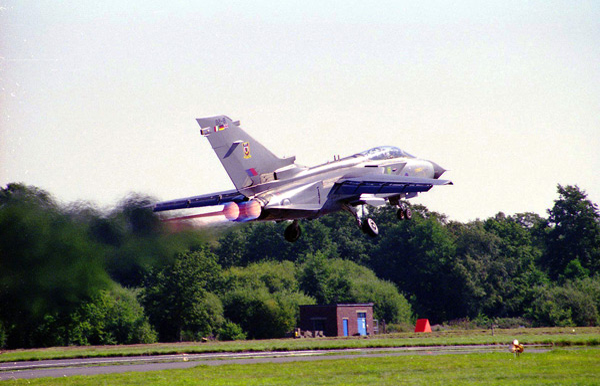 Panavia Tornado at Farnborough International Air Show 1998