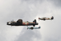 The Battle of Britain Memorial Flight at Jersey International Air Display 2010