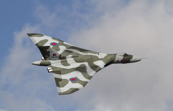 Avro Vulcan B2 G-VLCN/XH558 at Jersey International Air Display 2010