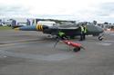 de Havilland Venom FB50 (DH-112) 824 G-VENM/WK436 at Kemble Air Show 2009