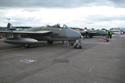 de Havilland Venom FB50 (DH-112) 752 G-DHVM/WR470 and 824 G-VENM/WK436 at Kemble Air Show 2009