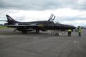 Hawker Hunter T7 41H/670792 G-FFOX/WV318 at Kemble Air Show 2009