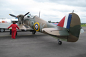 Hawker Hurricane Mk I G-HUPW R4118 at Kemble Air Show 2009