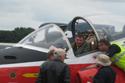 Jet Provost pilot at Kemble Air Show 2009