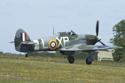 Hawker Hurricane Mk IIB G-HHII BE505 Hurribomber at Kemble Air Show 2010