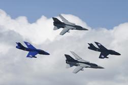 Panavia Tornados and Hawker Hunters at Kemble Air Show 2008