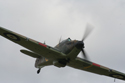 Hawker Hurricane Mk I G-HUPW R4118 at Little Gransden Air Show 2006