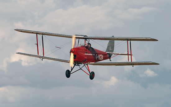 de Havilland DH-82A Tiger Moth II G-ACDA at Little Gransden Air Show 2012