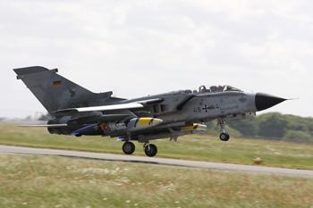 German Air Force - Panavia Tornado ECR 4644 (cn 871/GS277/4344) at the NATO Tiger Meet 2011 at Cambrai, France